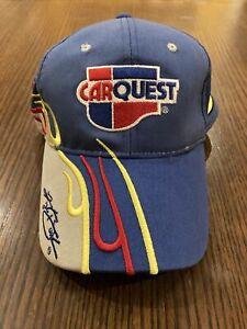 SMI Carquest Blue NASCAR #5 Kyle Busch Signature Cap Hat OS Adjustable