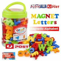 78PCS Magnetic Numbers Letters Alphabet Learning Toy Fridge Magnets Xmas gift OD