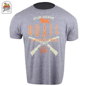 Quail Forever Est. 2005 T-Shirt (L)- Denim
