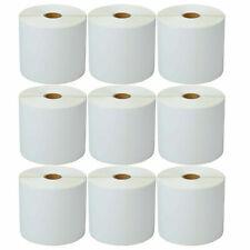 9rolls 4x6 500 Direct Thermal Label For Zebra Lp2844 Lp2424 Tlp2844 Lp2442 Zp450