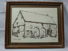 Farmhouse Webenheim Germany Country Architecture Art Print Number 84?