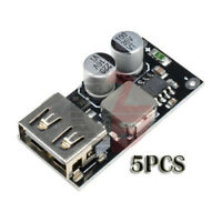 5PC QC3.0 QC2.0 DC-DC 6-32V Step Down Buck Converter Fast Charging Circuit Board