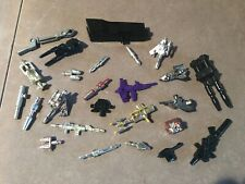 Transformers G1 Vintage Original Parts Weapons Accessories Lot of 25 #5