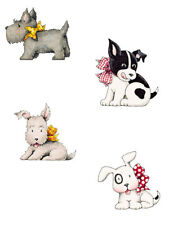 Cute Puppy Dogs 4 Styles 25 Wallies Wallpaper Cutouts Dog Stickers Decals Decor