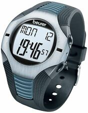Beurer PM26 Heart Rate Monitor Sports Fitness Exercise Watch S/Steel Weight Loss