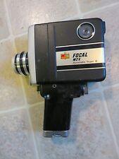 Focal MZV Super 8mm Vtg Movie Camera Video Film Automatic Kmart Made In Japan