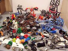 6 lbs lego bionicle parts pieces masks weapons action figure robot building lot