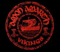 AMON AMARTH cd lgo VINTAGE VIKINGS Official SHIRT SMALL New OOP