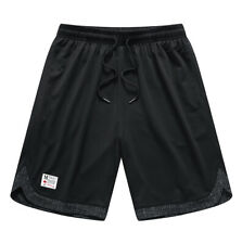 Hqtn Men's Sweat Shorts With Pockets Loose-Fit Gym Workout Casual Joggers Shorts