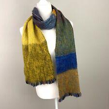 INTI Handmade Knitwear 100% ALPACA WOOL Brushed SCARF 10x74