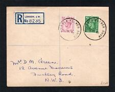 1950 COVER WITH 'CHELSEA FLOWER SHOW' CANCELS