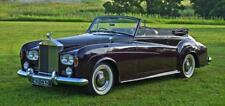 1963 Rolls Royce Silver Cloud III Drophead Coupe by H.J. Mulliner