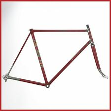 CATTINI STEEL FRAMESET FRAME 60s CAMPAGNOLO VINTAGE LUGS ROAD RACING BIKE OLD