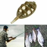 4PCS 30g INLINE METHOD FEEDERS FLAT SWIM FEEDERS NGT CARP FISHING TACKLE BA L6Y0