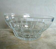 Large Retro Glass Fruit Bowl. Excellent Condition