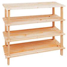 4 livello Cedar Wood Scarpa Scarpiera in lista Design Per Casa Ufficio Living