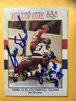 *AUTO BUZZ SCHNEIDER 1991 IMPEL #68 US OLYMPIC CARD HALL OF FAME MIRACLE ON ICE