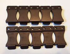 "10 Pack FOMI 1.5"" Nylon Belt Clips DIY Knife Sheaths and IWB Holsters"
