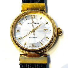 Luxus Modell von Jacques Lemans Herrenuhr JL 1-890 Automatik Gold Swiss Made
