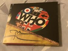 More details for the who signed pete townsend cd album
