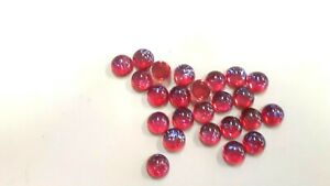 36 vintage czech round cabochons,9mm MEXICAN OPAL