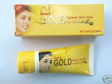 Emami GOLD Turmeric Skin Lightening Cream 24k Gold 30ml Natural Herb Extracts