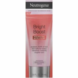 Neutrogena Bright Boost Resurfacing Micro Polish 75mL with Glycolic Acid