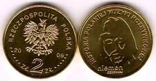 POLAND 2 zlote 2009. Czeslaw Niemen
