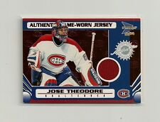 2003-04 Pacific Prism Jersey Red #124 Jose Theodore 33/75