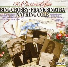 Bing Crosby, Frank Sinatra, Nat King Cole-It's Christmas Time CD/new and sealed