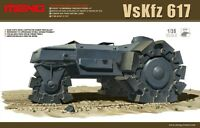 Meng Model 1/35 SS-001 VsKfz 617 Minenraumer Hot