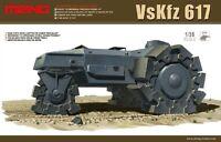 Meng Model 1/35 SS-001 VsKfz 617 Minenraumer Hot