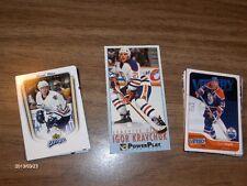 Edmonton Oilers,Gretzky,Messier,Fuhr,Eberle, 35 cards