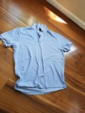 ralph lauren polo baby blue mens xl euc