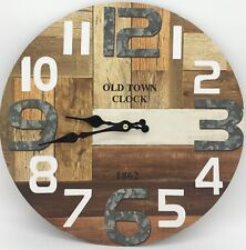 Clock Design Wooden Wall Clock Home Decor