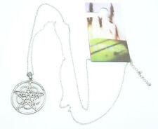 New Urban Outfitters Long Gothic Star Pendant Necklace #N2594