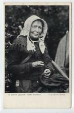 A GIPSY QUEEN, NEW FOREST: Hampshire postcard (C31500)