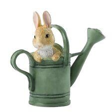 Beatrix Potter Peter Rabbit in Watering Can  Mini Figurine / Ornament