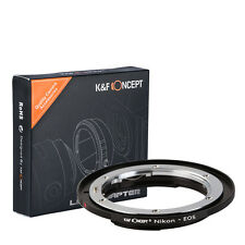 K&F Concept Lens Mount Adapter for Nikon AI AI-S Lens to Canon EOS EF EF-S Mount