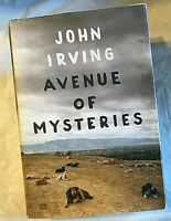 John Irving AVENUE OF MYSTERIES First Edition 1st Printing Living In The Past