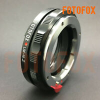 FOTOFOX LM-NZ/M For Leica M VM to Nikon Z camera Close Focus adapter With Macro
