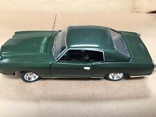 1:24 1970 Chevy Monte Carlo SS454 Dark Green by Saico without box