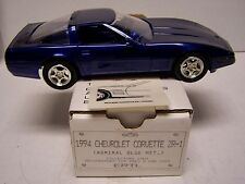 1994 Corvette ZR1 Promotional Model Promo In Original Box Admiral Blue Met 6256