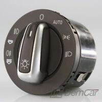 Audi A6 Q7 Interrupteur de Lumière Rotatif 4F1941531E C6 4L Chrome