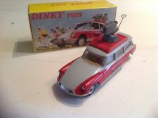 Veritable Dinky Toys France 1404 RTL Citroen Id 19