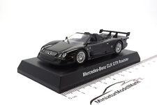 #201110 - Kyosho Mercedes-Benz CLK GTR Roadster - Schwarz - 1:64