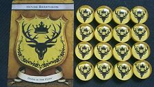 A Game of Thrones Power Tokens House Baratheon AGOT LCG CCG 2.0 Second Edition