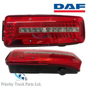 GENUINE DAF XF, CF, LF Euro 6 Rear Lamp Tail Light LED LH/NS - NEW