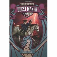 The Last Dragon Charmer #2: Quest Maker by McKay, Laurie   Paperback Book   9780