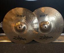 "More details for 14"" zildjian zbt hi hat cymbals #647"
